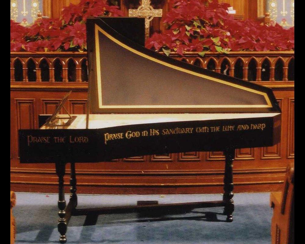 Harpsichord First Presbyterian Church, Charlotte, NC